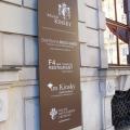 Palais Kinsky Leitsystem