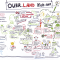 "Graphic Recording ""Quer.Land"" Kick Off"